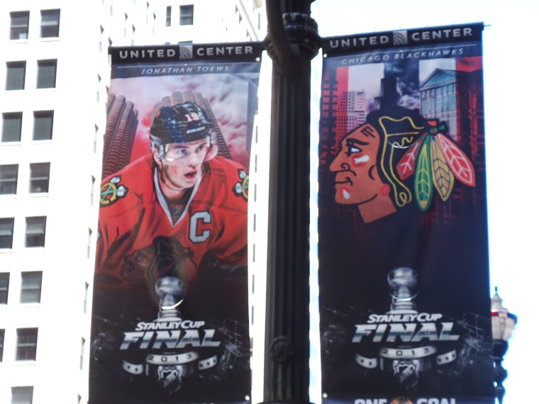 GOOD LUCK BLACKHAWKS