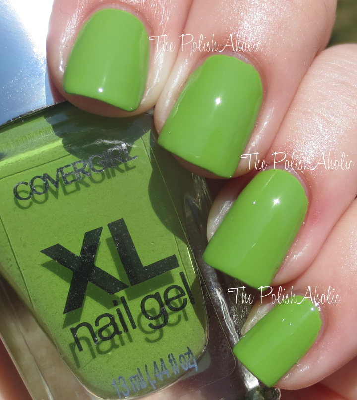 The PolishAholic: Covergirl XL Nail Gel Plump It Pear & Plumped Up ...