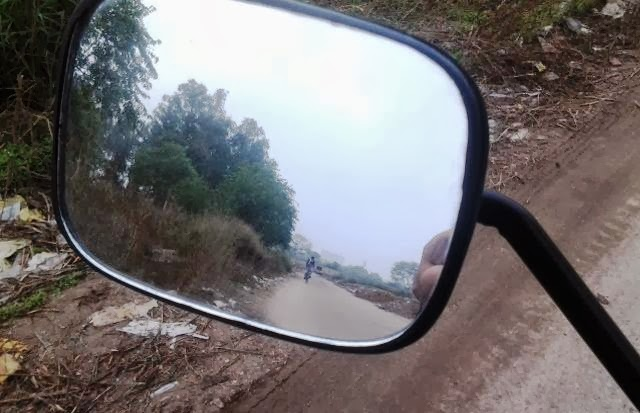 Love, Life and Rear View Mirror -photo by Deep Jagdeep Singh