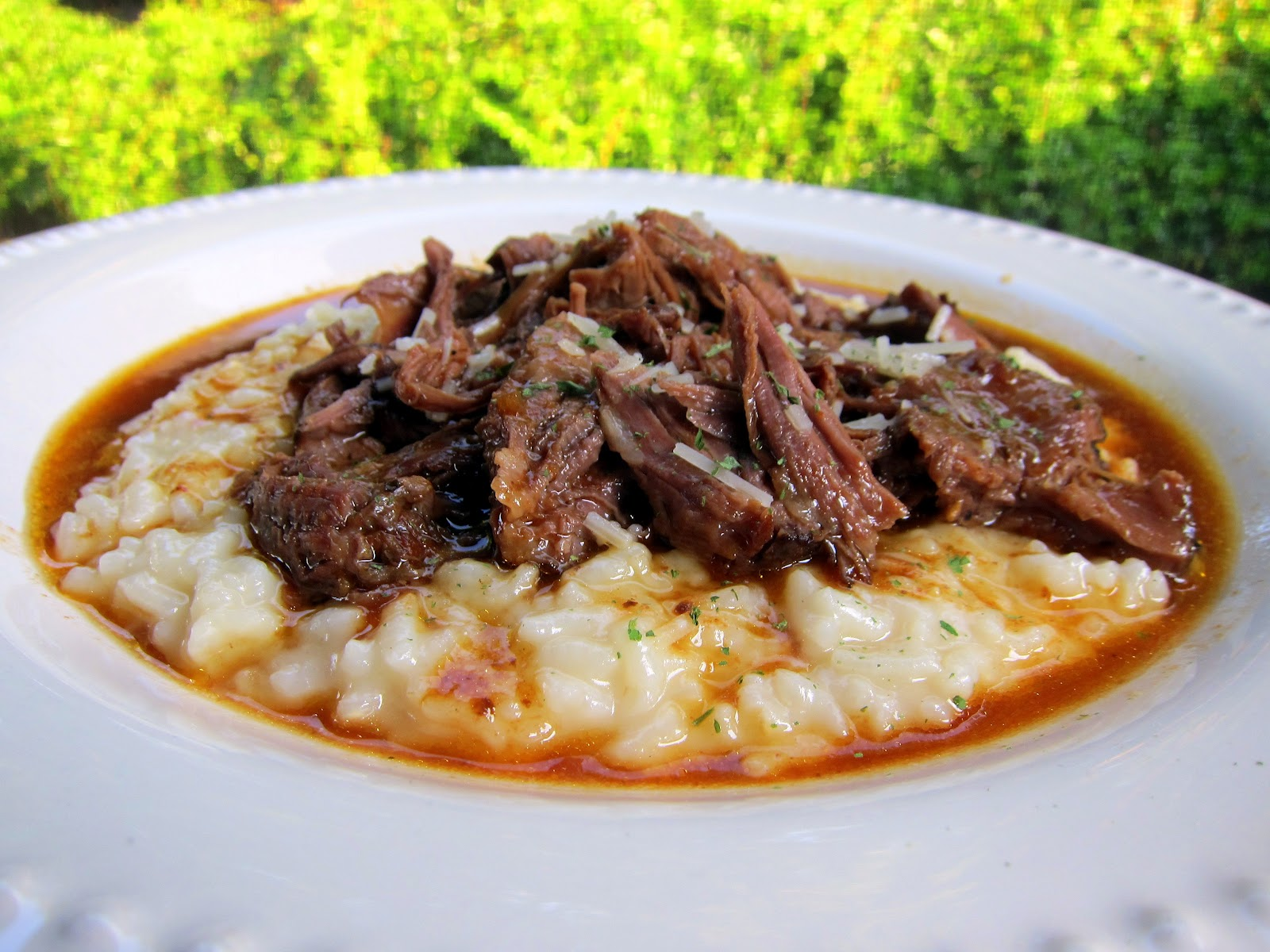 Italian Pot Roast & Parmesan Risotto | Plain Chicken