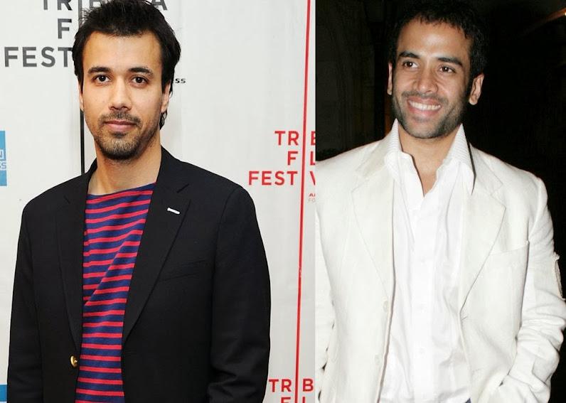 Phillip Rhys and Tusshar Kapoor