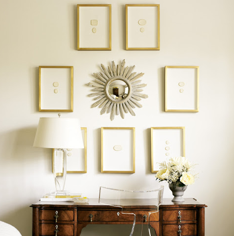 buckhead market will have more of the exquisite intaglio collections in the white frames as well as subtle silver with gold washed frames at the chicago