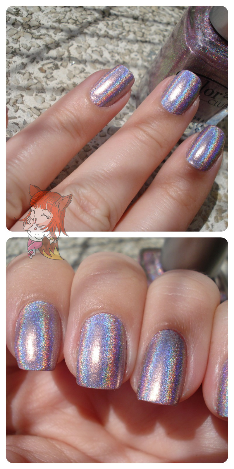 Esmalte Holográfico Color Club :: Cloud Nine