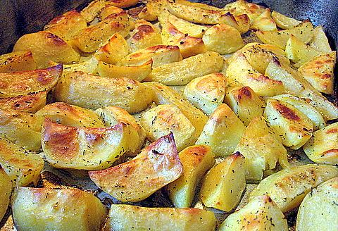 how to cook potatoes and vegetables in the oven