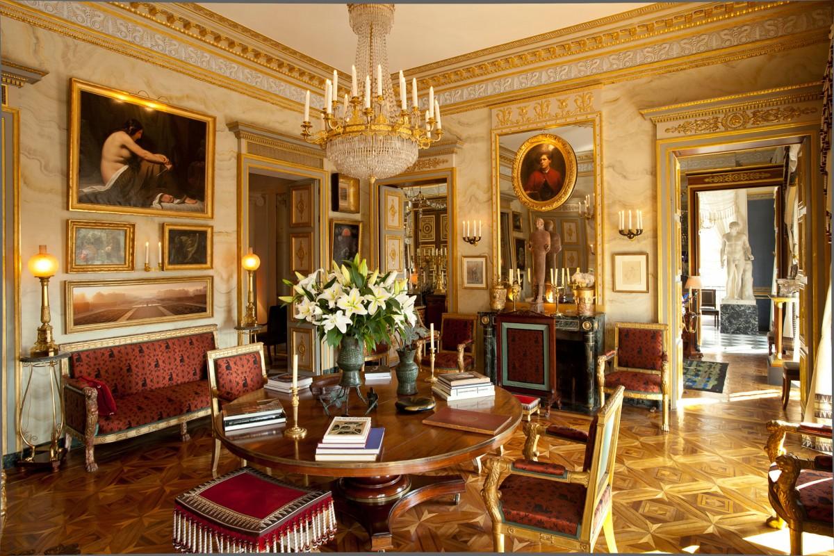 Loveisspeed jacques garcia 39 s parisien taste for Decoration salon francais