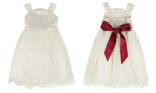 little bridesmaid dress