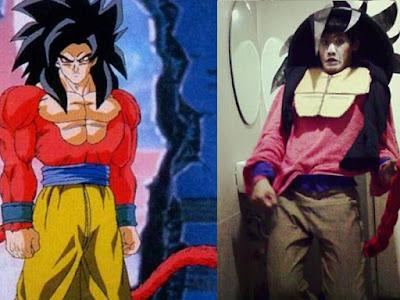 Cosplay Goku SSJ4