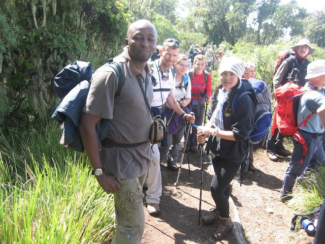 RA safaris Mount Meru Trekking