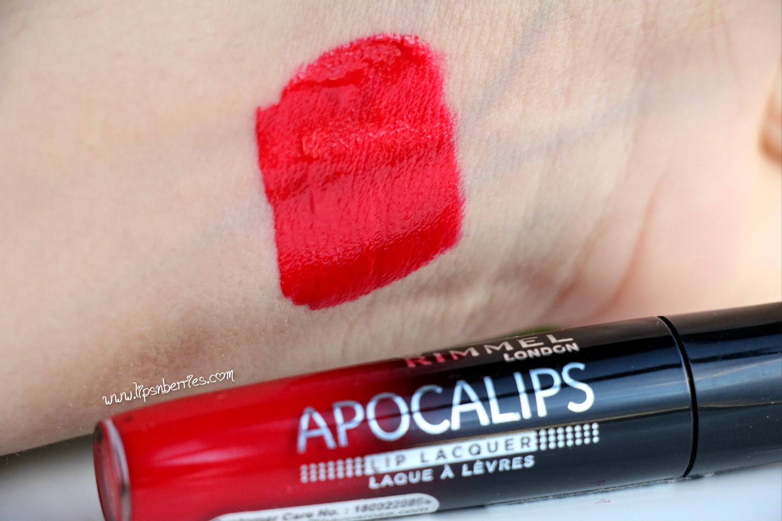 rimmel apocalips big bang swatch