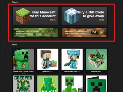 minecraft how to make a payment
