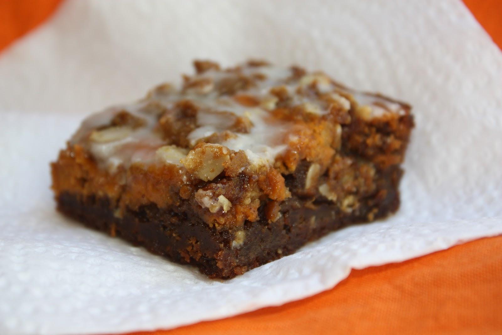pass the peas, please: gingerbread pumpkin bars