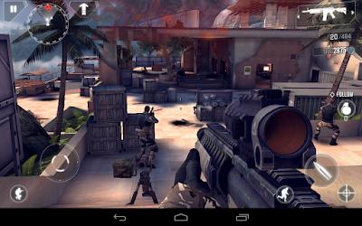 Modern Combat 4: Zero Hour v1.7.1c Apk + Data