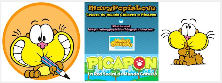MaryPopisLove - Trucos de Mundo Gaturro y Picapon