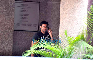 Aditya & Sooraj Pancholi questioned at Juhu Police Station-News in Pics