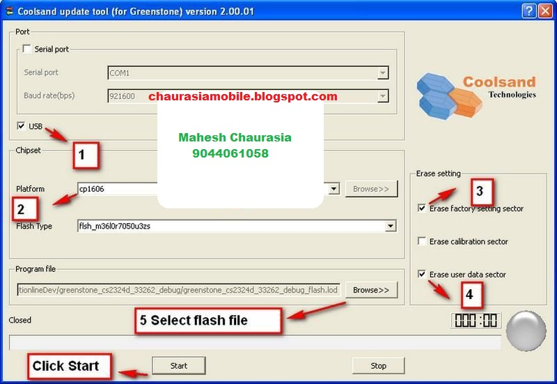 coolsand cpu usb driver free download