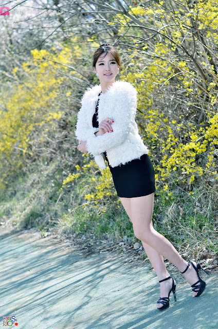 2 Choi Byeol Ha Outdoor  - very cute asian girl - girlcute4u.blogspot.com