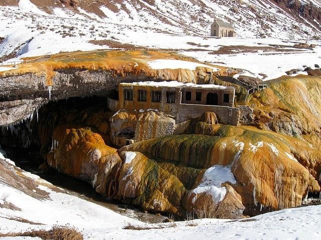 Puente del Inca - nieve