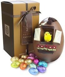 luxury chocolate egg, chick egg