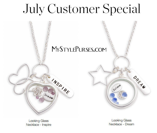 Miche Looking Glass Necklaces | Shop MyStylePurses.com