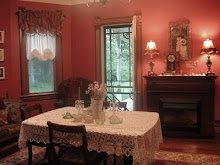 Our Red Dining Room