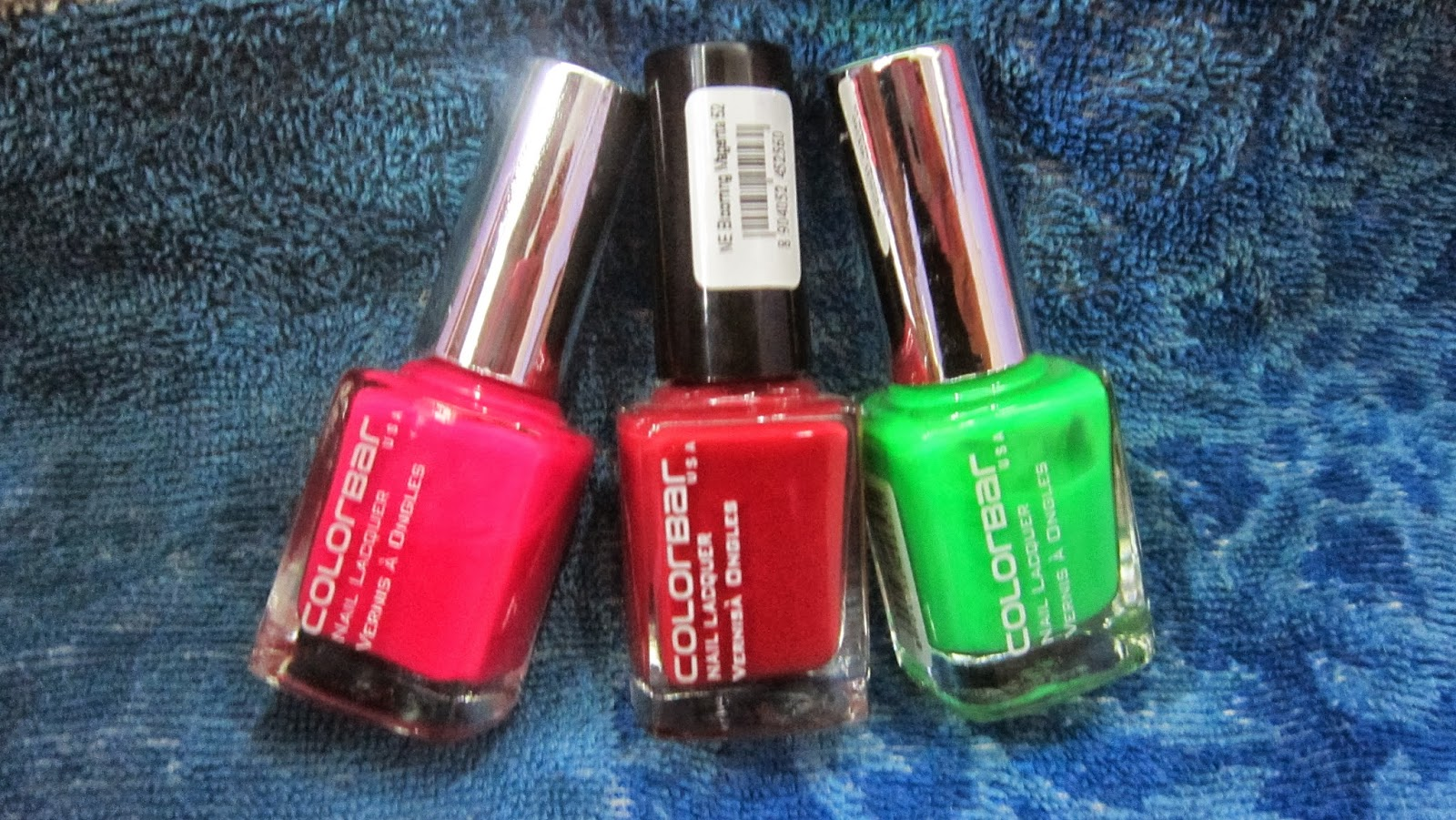 COLORBAR NAIL POLISHES: REVIEW – Her Creative Palace