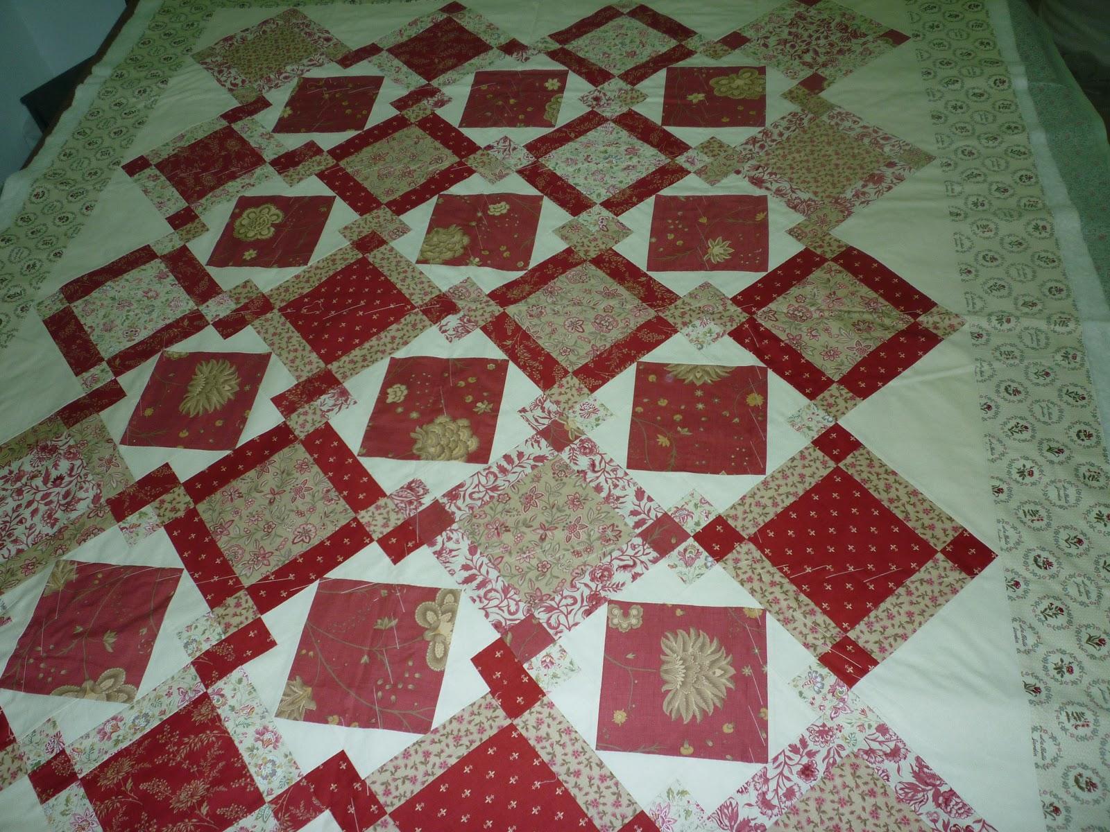 Les flors mayo 2013 - Colchas de patchwork modernas ...