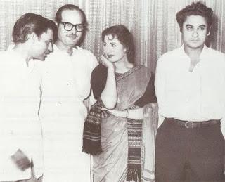 Kishor Kumar and Madhubal