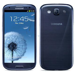 Samsung Galaxy S III Pebble Blue Diubah ke Metallic Blue