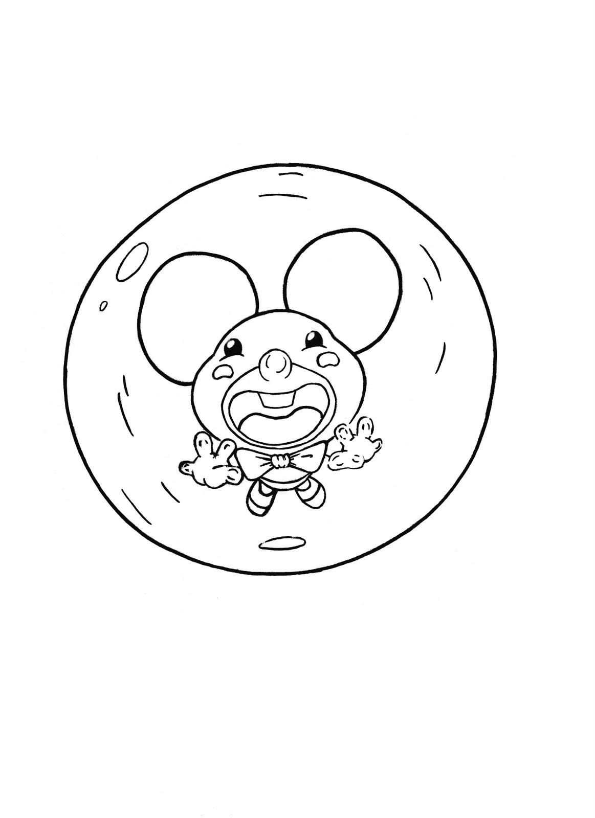 el camino del dibujante   ratoncitos para lian