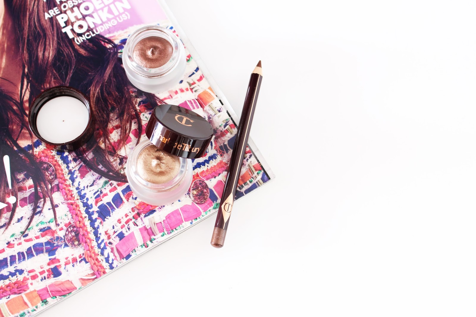 charlotte tilbury eyes to mesmerise cream eyeshadow in mona lisa and marie antoinette