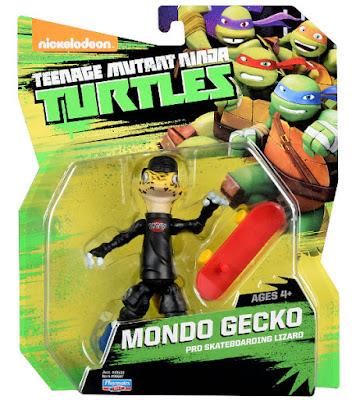 JUGUETES - LAS TORTUGAS NINJA  Mondo Gecko   Figura - Muñeco  Teenage Mutant Ninja Turtles   2015   TMNT   Nickelodeon  Producto Oficial Serie Televisión   Ref. 90597   A partir de 4 años  Comprar en Amazon.es   Buy Amazon.com