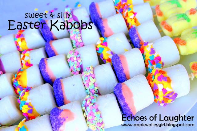 marshmallow kabobs