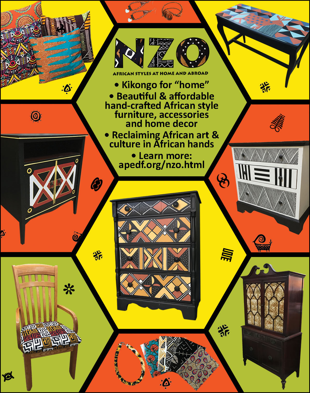 NZO - African Styles at Home & Abroad!