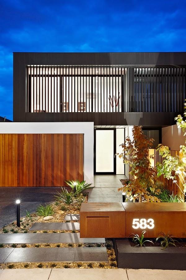 maison moderne extérieur