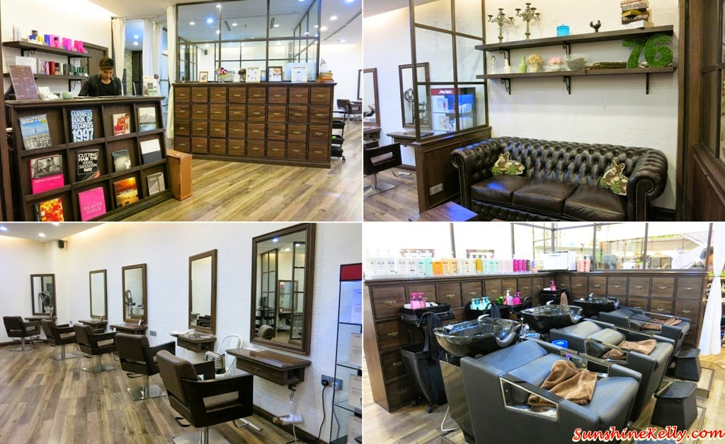 UltraSonic Iron Hair Treatment, Tansan Spa, Hair Review, Number76, Starhill Gallery, Hair care, UltraSonic Iron, Deesse's salon treatment system