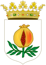 Armas de Granada que pasaron al escudo de los RRCC