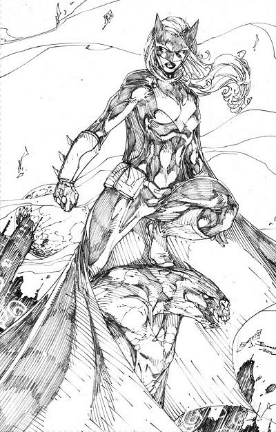 New 52 Hawkman Batgirl - Mera - Batwo...