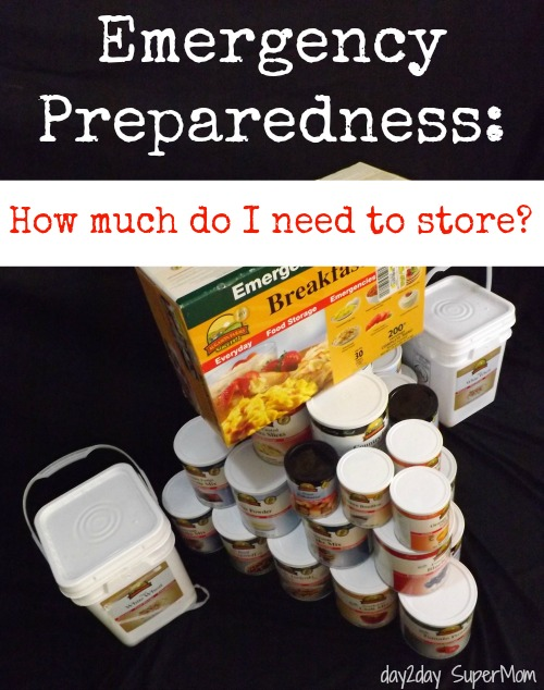 Emergency Preparedness & Food Storage: What do I need? ~ PreppDay Wednesday