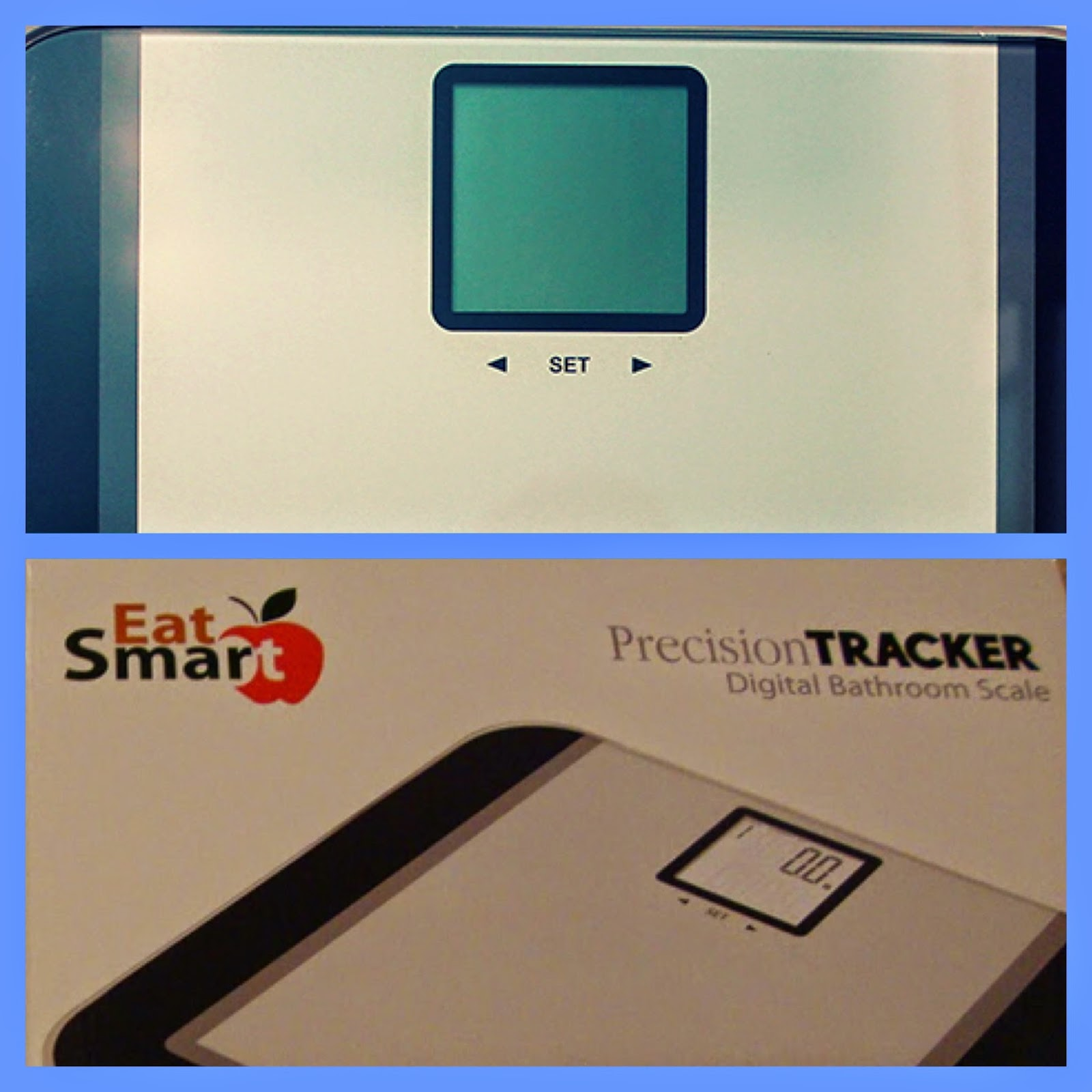 Eatsmart precision tracker digital bathroom scale