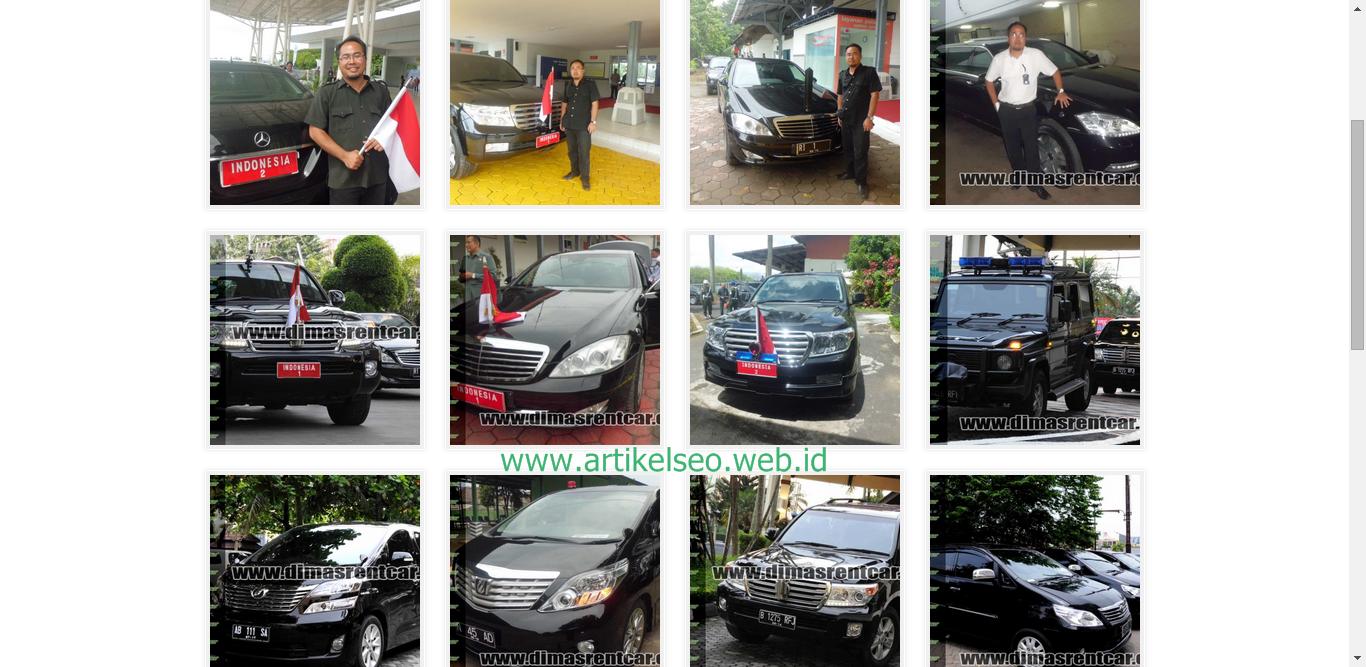 Sewa Mobil DimasRentcar.Com