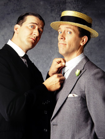 Eclectic Ephemera: By Jove, it's Jeeves & Wooster!