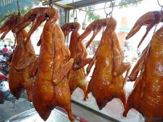 hình ảnh: vịt quay Bắc Kinh' thơm giòn