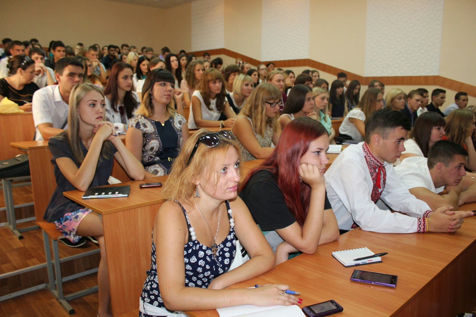 Посвята у студенти на обліково-фінансовому факультеті. Фото 3.