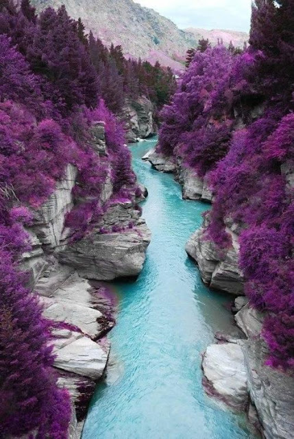 Looking for beauty in nature? Look no further than the fairy pools on the Isle of Skye in Scotland.