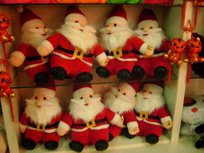 Santa Dolls for Christmas
