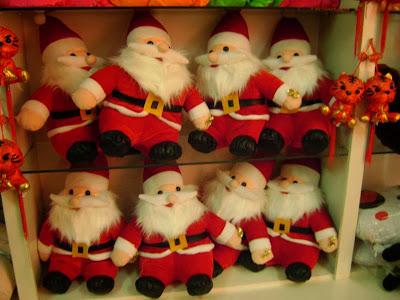 Santa Dolls for Christmas