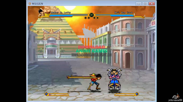 Free mugen One Piece Pirate Battle PC