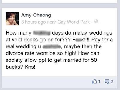 Amy Cheong kutuk Melayu