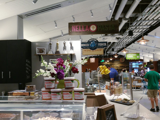 Nella Pasta Boston Public Market indoor farmer's market open in Boston Blogger Tour
