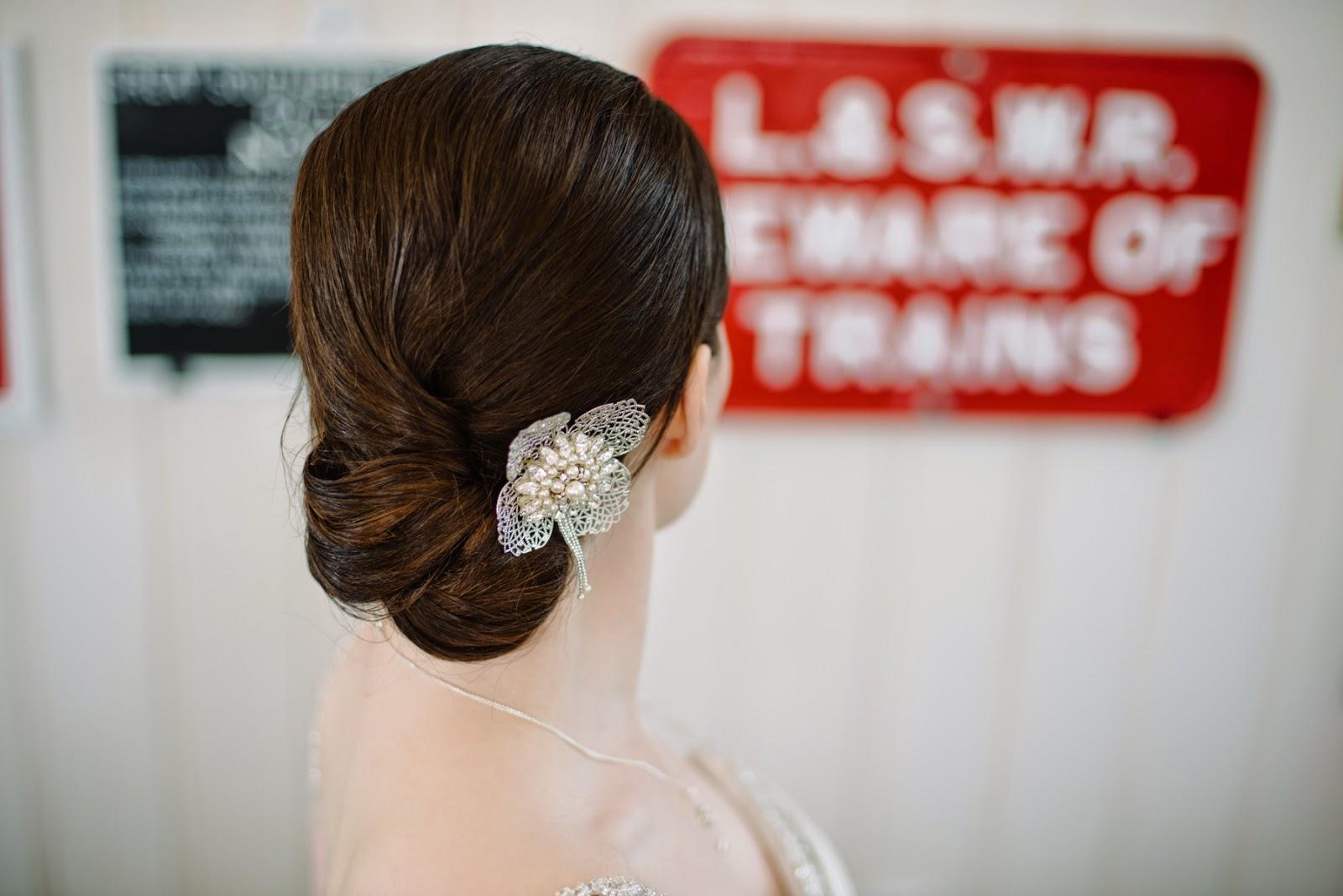 vintage flower hair clip 2015,